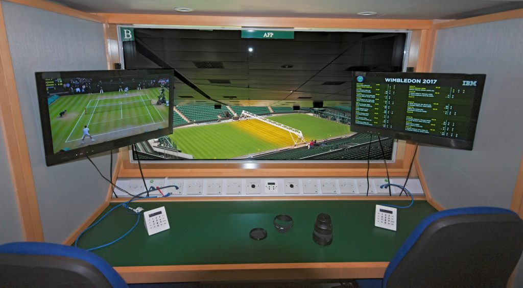 AELTC Commentary Box Systems