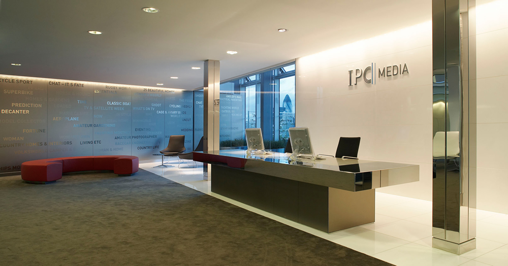 IPC Media, Blue Fin Building audio visual