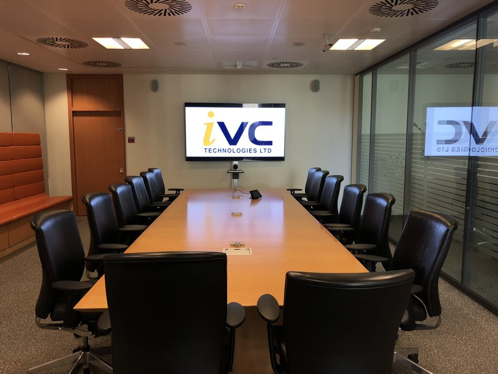 AV Technology IVC Technologies Meeting Room